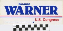 Image of Suzanne Warner; U.S. Congress