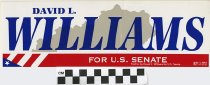 Image of David L. Williams for U.S. Senate -