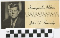 Image of Inaugural Addres of John F Kennedy