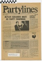 Image of PartyLines Volume 1, Number 2
