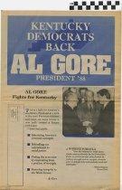 Image of Kentucky Democrats Back Al Gore