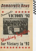 Image of Democratic news Summer 1992