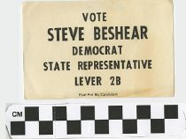 Image of Vote Steve Beshear, Democrat, State Representative