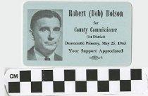 Image of Robert (Bob) Bolson