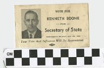 Image of Vote Kennety Boone for Secretary of State