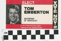 Image of Tom Emberton Governor of Kentucky