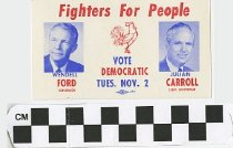 Image of Fighers for People: Ford/Carroll