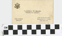 Image of Carroll Hubbard: Member of Congress