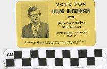 Image of Vote Julian Hutchinson for Representative