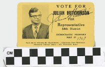 Image of Vote Julian Hutching for Representative