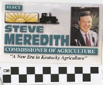 Image of Elect Steve Meredith Commissioner of Agriculture