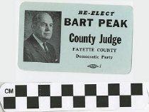Image of Re-Elect Bart Peak