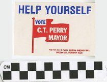 Image of Vote C.T. Perry for Mayor