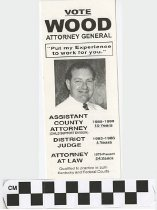 Image of Vote Wood Attorney General