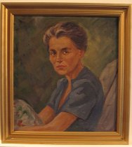 Image of 2005.31.1 - Portrait of Emma Lowe by Dorothy Grider