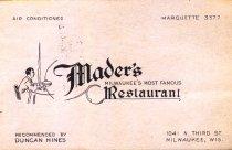 Image of Mader's Restaurant -