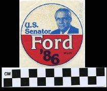 Image of U.S. Senator Ford 1986