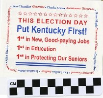 Image of Put Kentucky First this Election Day
