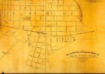 Image of Water Map of Bowling Green, Kentucky -
