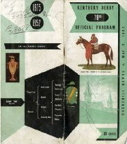 Image of 78th Kentucky Derby official program