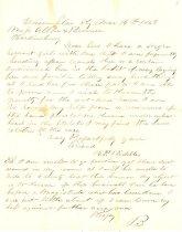 Image of SC 1457  BIDDLE, H. P. Letter