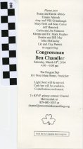 Image of Fundraiser for congressman Ben Chandler