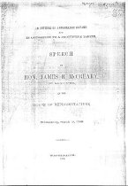 Image of Speech of Hon. James B McCreary