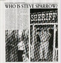 Image of Who is Steve Sparrow?