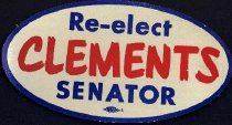 Image of Re-Elect Clements Senator