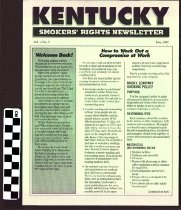 Image of Kentucky Smokers' Rights Newsletter