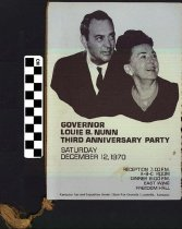 Image of Governor Louie B. Nunn Third Anniversary party