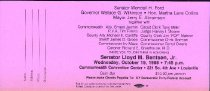 Image of Senator Lloyd Bentsen [appearance ticket] - Senator Lloyd Bentsen