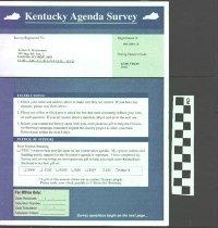 Image of Kentucky Agenda Survey