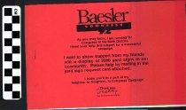 Image of Baesler Congress
