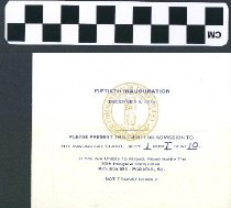 Image of Fiftieth Inauguration