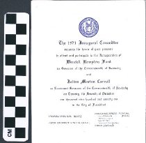 Image of The 1971 Inaugural Commity