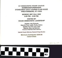 Image of Kentucky Democratic Barbeque/Fundraiser