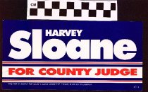 Image of Harvey Sloane for For County Judge