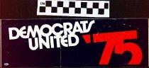 Image of Democrats United '75