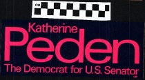 Image of Katherine Peden The Democrat for U.S. Senator