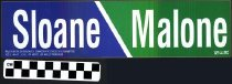 Image of Sloane / Malone bumper sticker
