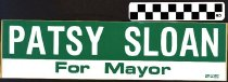 Image of Patsy Sloan for Mayor