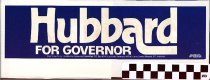 Image of Hubbard for Governor