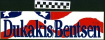 Image of Dukakis/ Bentsen  [bumper sticker] -