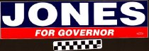 Image of Jones for Governor