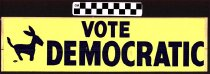 Image of Vote Democratic