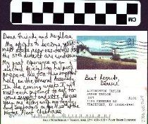 Image of Postcard for Livingston Taylor from Derrick