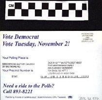 Image of Vote Democrat, Vote Tuesday To Westerman Family