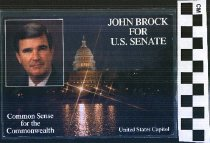 Image of John Brock for U.S. Senate: Common Sense for the Commonwealth