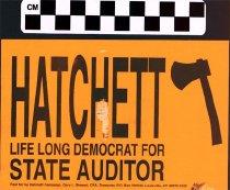 Image of Hatchett Life Long Democrat for State Auditor